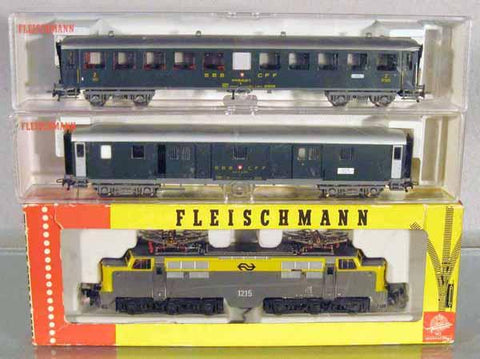 Fleischmann 129 HO Train Set