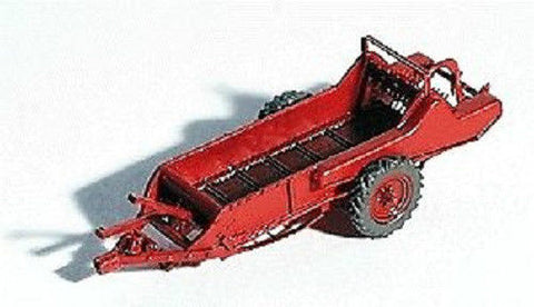 GHQ 60-002 HO 1950's Manure Spreader Pewter Kit