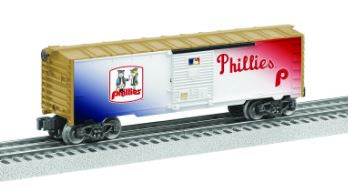 Lionel 6-83493 O Philadelphia Phillies™ Cooperstown Boxcar NIB