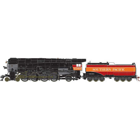 Athearn G97059 HO Southern Pacific 4-8-2 MT-4 Steam Loco w/Skyline Casing #4361