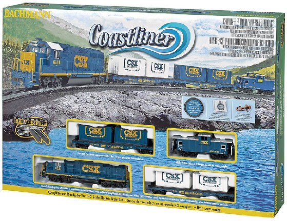 Bachmann 00734 CSX Coastliner HO Gauge Diesel Train Set