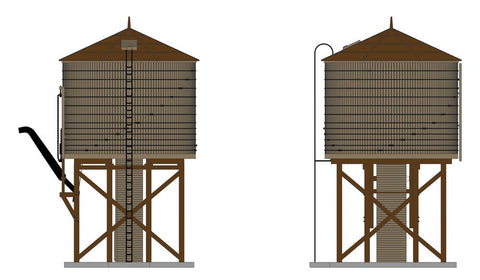Broadway Limited 6131 N Oper Water Tower W/sound, Unlettered, Weathered Brown,
