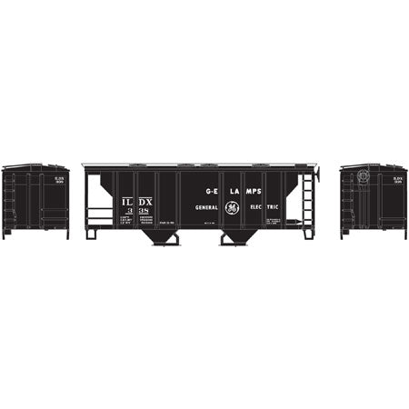Athearn 96159 HO general electric PS-2 2003 2-Bay Covered Hopper, #338