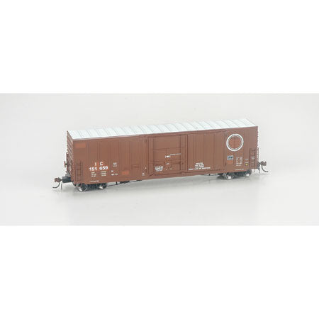 "Athearn G69093 HO Illinois Central 50' PC&F Box w/10'6"" Door #151659"