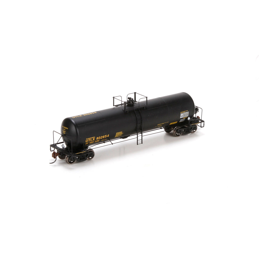 Athearn 74446 HO UTLX RTC 20,900-Gallon Tank Car #802654 (Black)