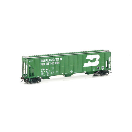Athearn 81967 HO Burlington Northern/Fort Worth and Denver Covered Hopper #459718