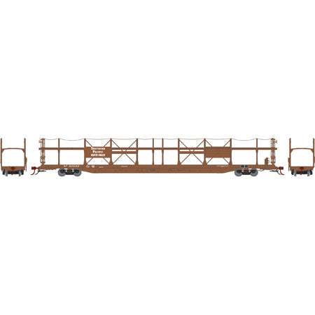 Athearn G69944 HO Southern Pacific F89-F Bi-Level Auto Rack #515042