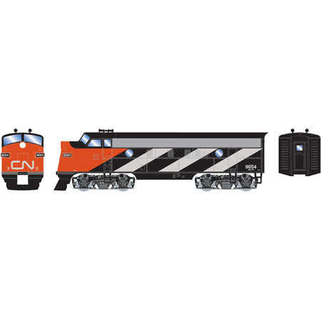 Roundhouse 87903 HO Canadian National F7A Diesel Locomotive #9054