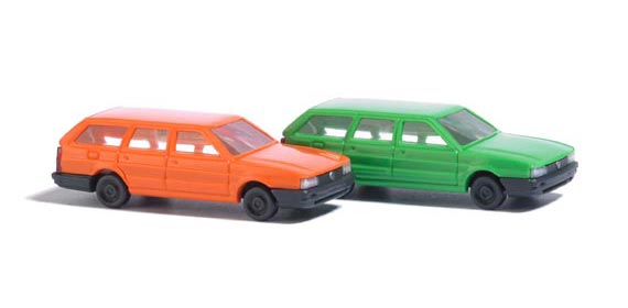 Busch 8300 VW Passat orange & grn 2/