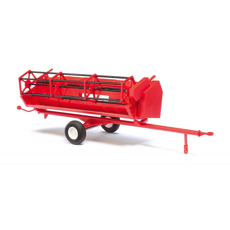 Busch 40182 Combine Trailer red