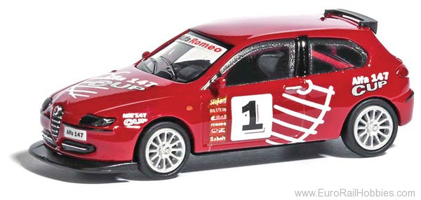 Busch 9838836 Alfa 147 Cup Version 2001