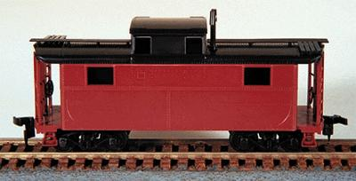 Bowser 55000 HO Pennsylvania Railroad Undecorated N-5 Caboose