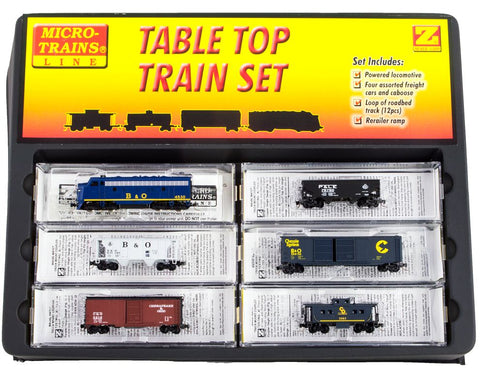 MicroTrains 99403861 Z Baltimore & Ohio F7 Train Set without Track