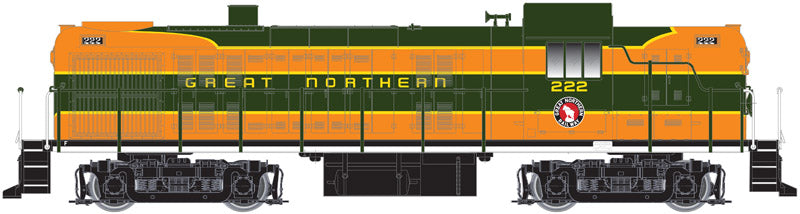 Atlas 10001956 HO Great Northern Alco RS3 Water-Cooled Exhaust w/Snd & DCC #222