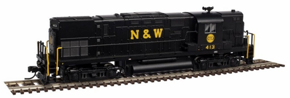 Atlas 40002338 N N&W C420 Phase 2A High Nose Diesel Locomotive #413