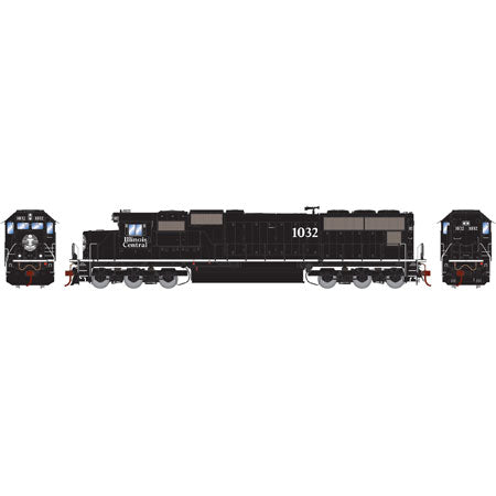 Athearn G69198 HO Illinois Central EMD SD70 Diesel Locomotive #1032