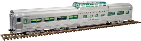 Atlas 3007013 O Cal Zephyr D&RGW Vista Dome w/Conductors Window #1106 3-Rail