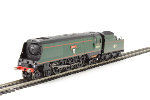 "Hornby R3310 OO Southern Railway BR 4-6-2 ""Bude"" West Country Class Steam Loco"