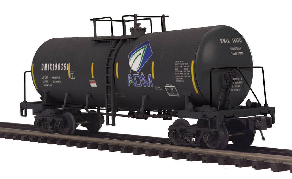 MTH 20-96267 O ADM Funnel Flow Tank Car