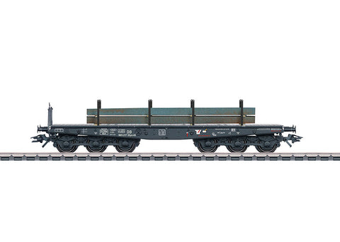 Marklin 48689 HO German Federal Railroad (DB) Type Ssym 46 Heavy-Duty Flat Car