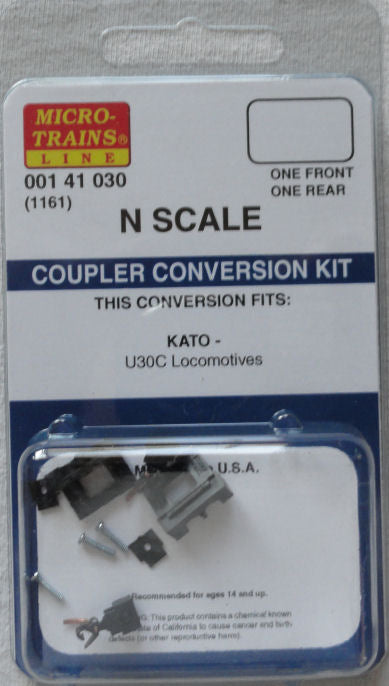 Kadee 1161 N Coupler Conversion Kit for Kato U30C Locomotive
