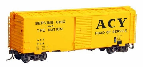 Kadee 4128 HO Akron, Canton & Youngstown 40' PS1 Boxcar #745 NIB