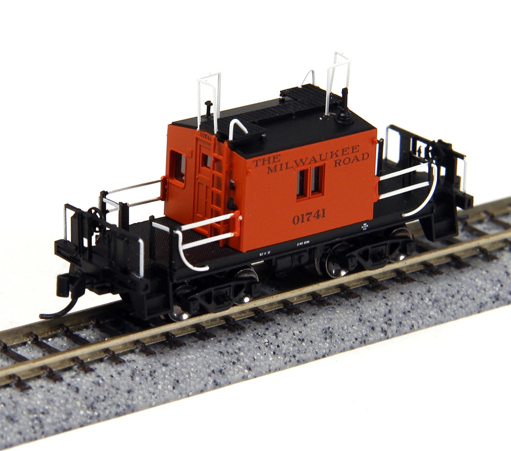 Fox Valley Models 91152 N Milwaukee Road Transfer Caboose #01741