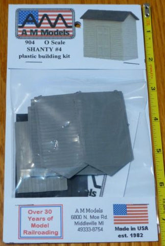 AM Models 904 O Shanty #4 Kit (Plastic)