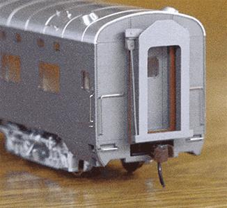 American Limited Models 9686 HO Diaph For Walthers Pullman Cars (Gray) (6)
