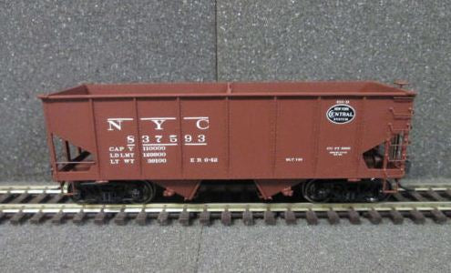 Adair Shops 4063 HO Weights Browser 45' Bay Hopper