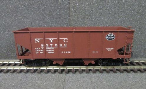 Adair Shops 4102 Weights Bowser 4-bay Hopper Car