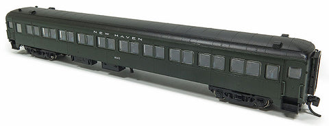 Rapido Trains 509021 N New Haven Lightweight 10-Window Coach No Skirts No Number