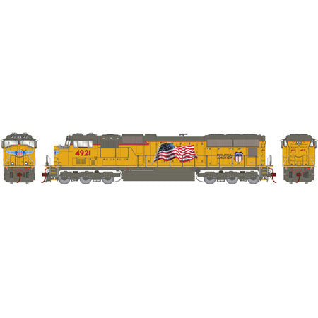 Athearn G69210 HO Union Pacific SD70M #4921