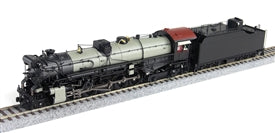 Broadway Limited 2829 HO Painted, Unlettered Class I-1a 2-10-4 Texas