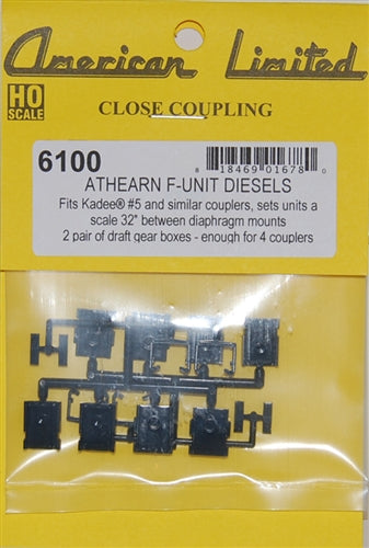American Limited Models 18973 HO Athearn F Unit Close Coupling Adapter Kit