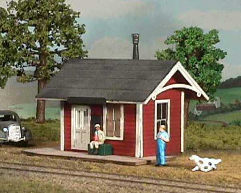 American Model Builders 490 O Branchline Depot Kit