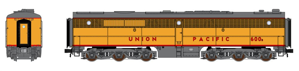 Broadway Limited 3398 N Union Pacific Alco PB1 Paragon2™ #602B