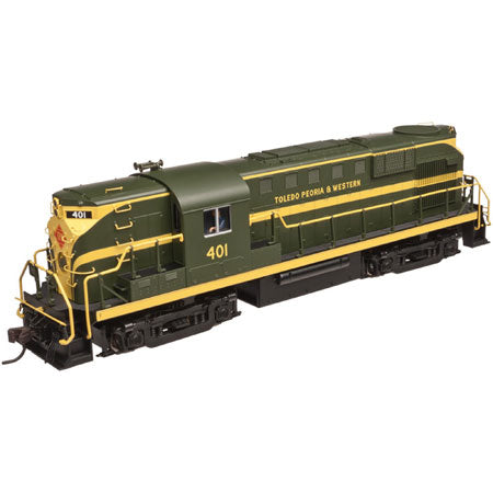 Atlas 40002628 N Toledo, Peoria & Western RS-11 Locomotives w/DCC #401