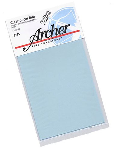 Archer Fine Transfers 22002 Clear Decal Film (2)