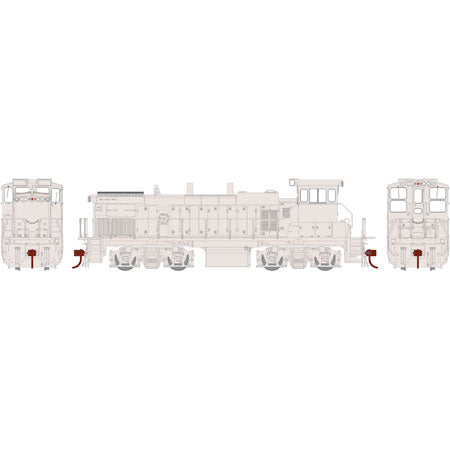 Athearn G69421 HO Undecorated/Southern Pacific MP15AC w/DCC & Sound