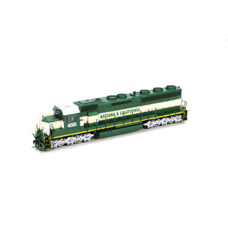 Athearn G86182 HO Arizona & California SD45-2 with DCC & Sound #4001