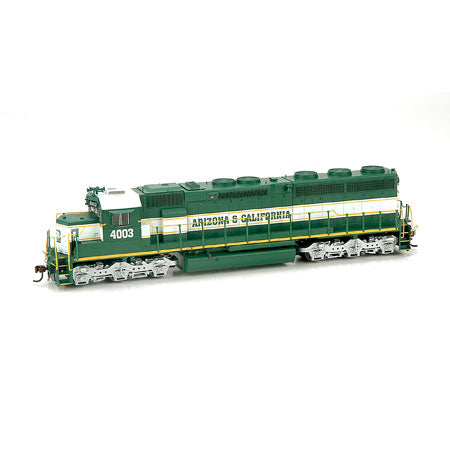 Athearn G86183 HO Arizona & California SD45-2 with DCC & Sound #4003