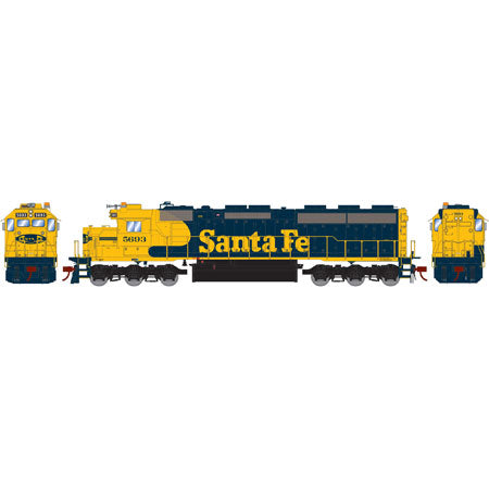 Athearn G86186 HO Santa Fe SD45-2 with DCC & Sound #5693
