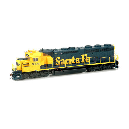 Athearn G86187 HO Santa Fe SD45-2 with DCC & Sound #5696.