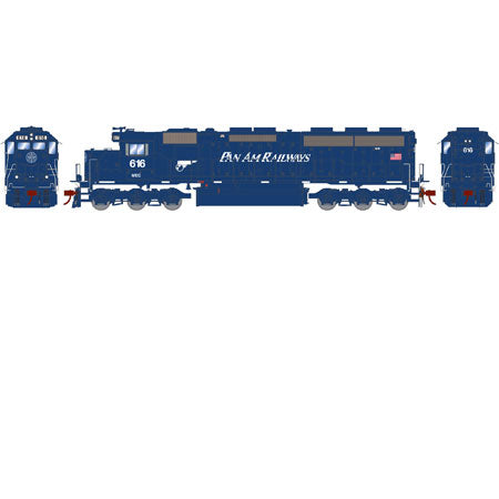 Athearn G86192 HO Maine Central (Pan Am) SD45-2 with DCC & Sound #616