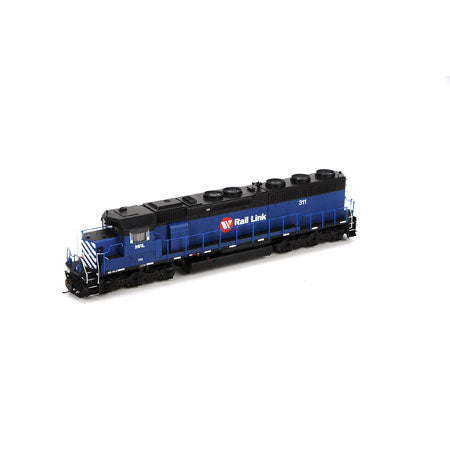 Athearn G86196 HO Montana RailLink SD45-2 with DCC & Sound #311