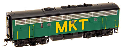 InterMountain 49592S HO Missouri-Kansas-Texas F7B DCC with Sound #75-E