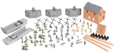 Playsets 40009 1:32 WWII D-Day: The Invasion of Normandy Boxed Playset