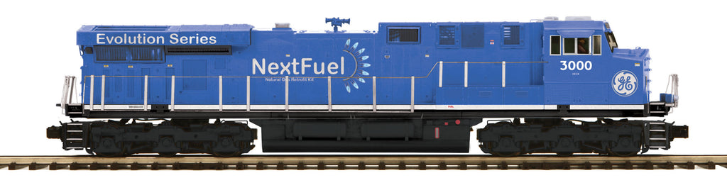 MTH 20-205081 O GE Next Fuel ES44AC Diesel Engine w/PS3 (Hi-Rail Whls) #3000