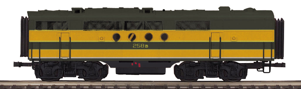 MTH 20-206273 O Great Northern FT B-Unit Diesel (Non-Powered) #258B